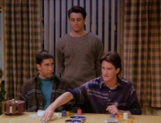 Friends 01x18 : The One With All The Poker- Seriesaddict